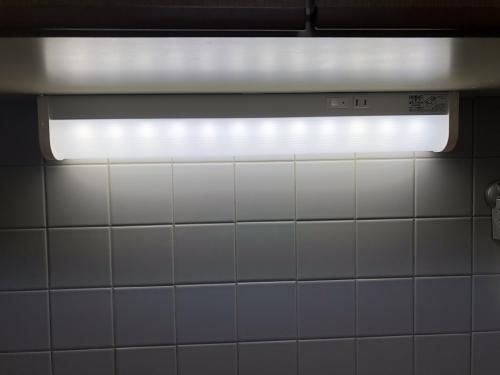 札幌市リフォーム工房楽人 手元灯設置