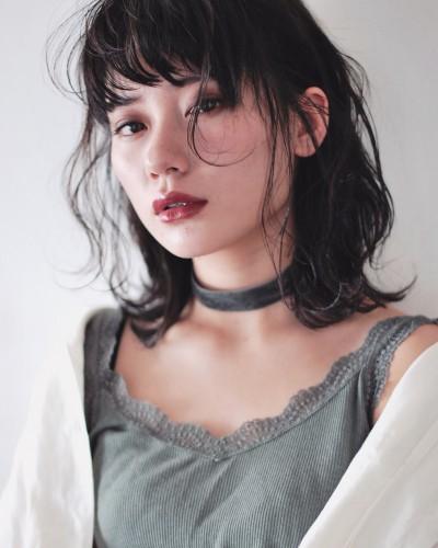 くびれ外ハネミディアム 【 イッシキ ケンタ 】