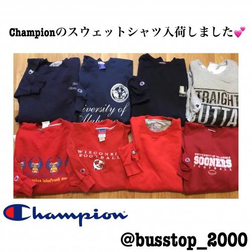 Championのスウェットシャツ入荷しました(^o^)