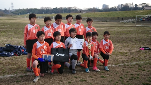 U-11SC 水戸市チャレンジカップ優勝