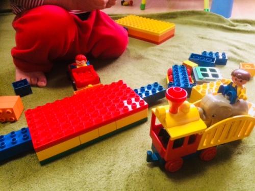 レゴ遊び  託児所・一時預かり
