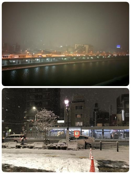 都心にも浄化の雪が来てくださいました!