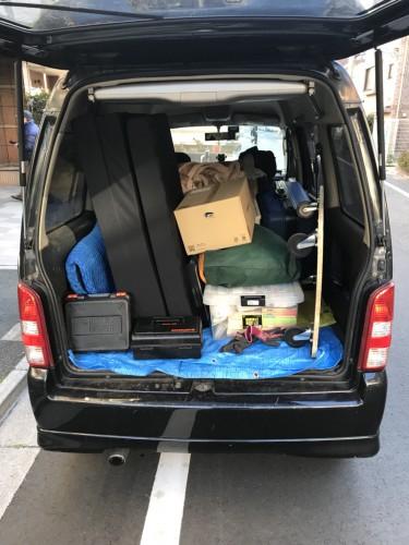 北区にて軽ワゴンお荷物運搬作業実行!