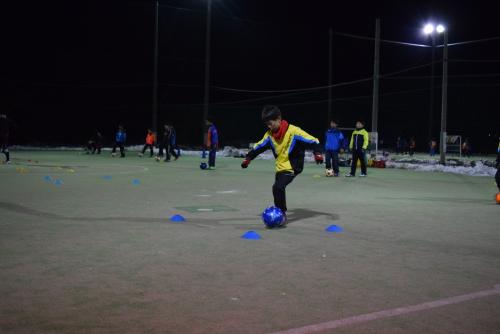 サッカースクール活動 U-12