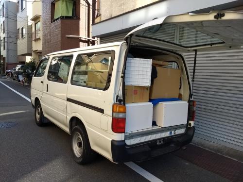 文京区〜中央区へのハイエース引越。