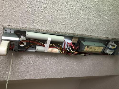 札幌市リフォーム工房楽人 共用部分の電気工事