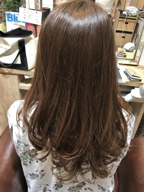 カラーリング人気色ヘアスタイル髪型調布美容室