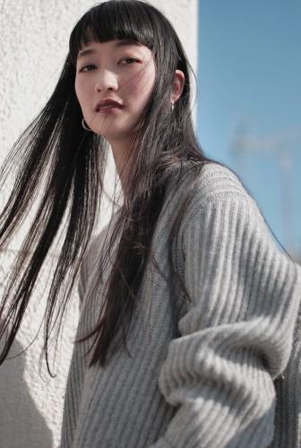 ショートバング ストレートヘア 【 ニシムラ カナ 】