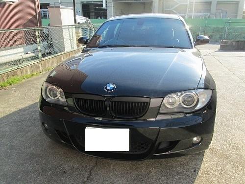 天井張り替え BMW 130i 1シリーズ