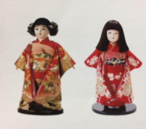 初節句の贈り物 市松人形