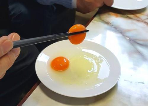 ナンに使っている卵です