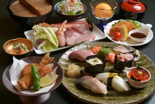 期間限定 冬の旬魚コース! ぶり、かに、ふぐ、牡蠣!