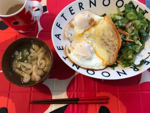 ☆店子の朝食☆