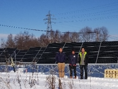 安平町に設置のH様、K様の太陽光発電完成!
