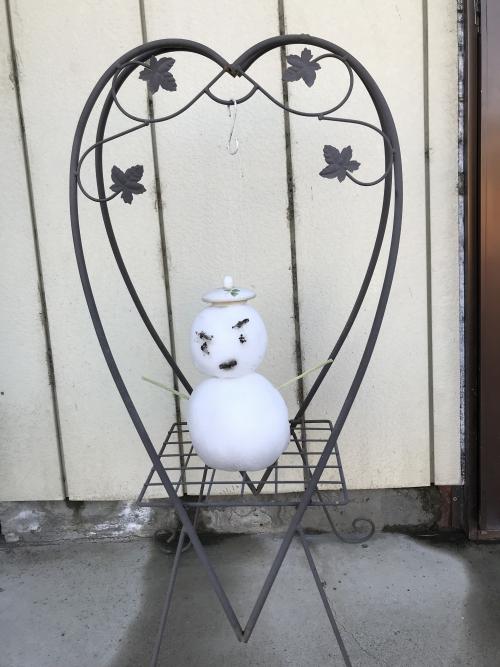 雪だるま〜♪