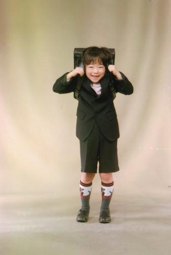 記念写真:6歳!走るのが大好き!