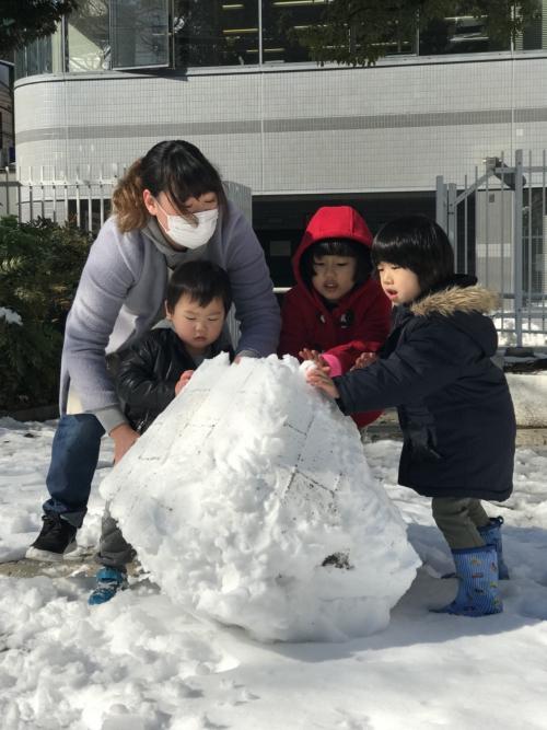 東京…雪!!その1