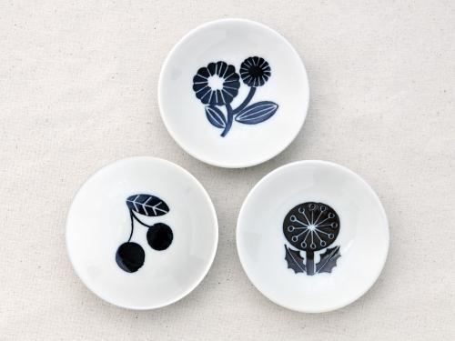 松尾ミユキ/ボタニカル柄の小さなお皿