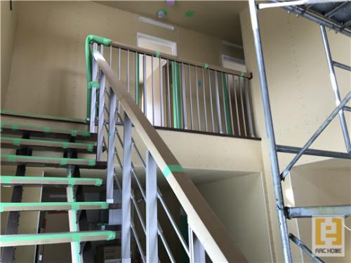 ☆新築戸建物件☆札幌市建築中現場情報を更新!オープン階段♪