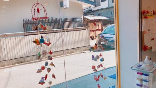 【千歳烏山YOU美容室】吊るし雛を飾りました!