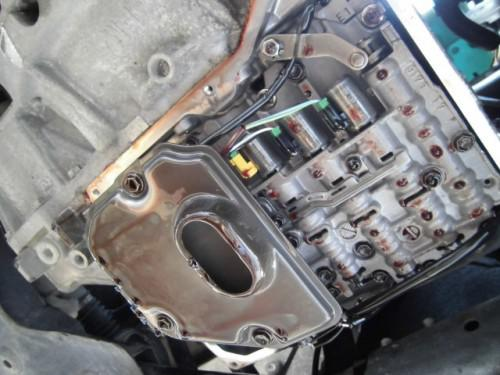 MINI  R55クラブマン トルコン太郎でATF圧送交換