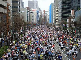 東京マラソンですね・・