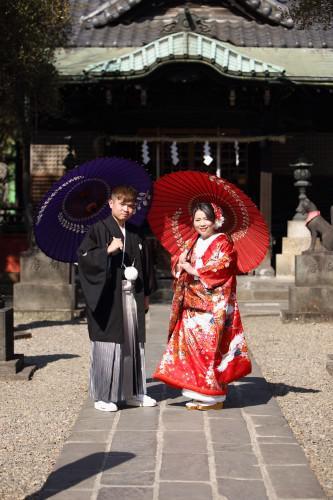浅草で記念に残る婚礼撮影を!
