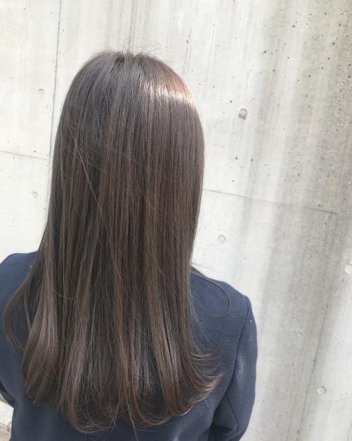 透明感カラー ラベンダーアッシュ☆  調布美容院