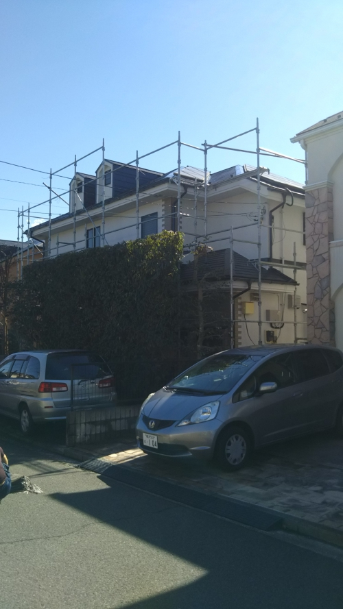 青葉区美しが丘西K様邸屋根外壁塗装工事
