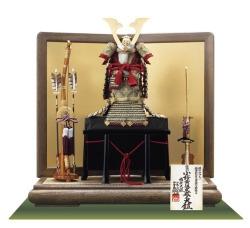 国宝模写「小桜黄返韋威」1/4の大鎧飾り