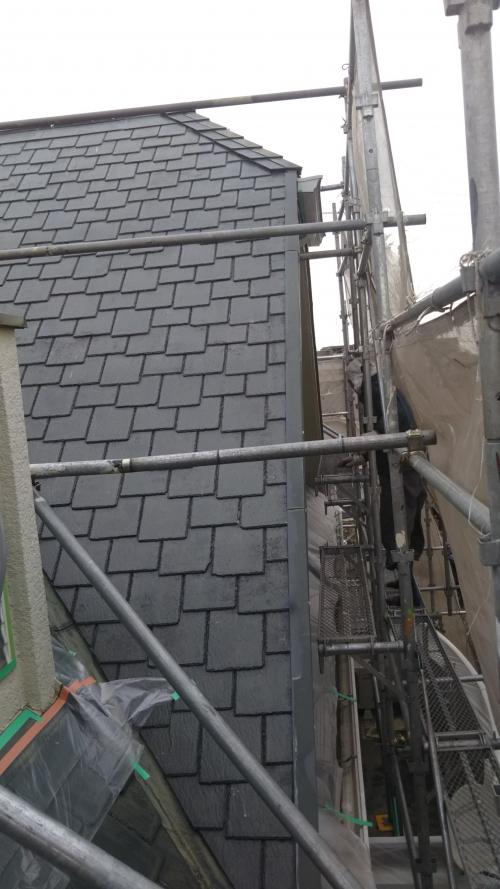 都筑区荏田南K様邸屋根外壁塗装工事