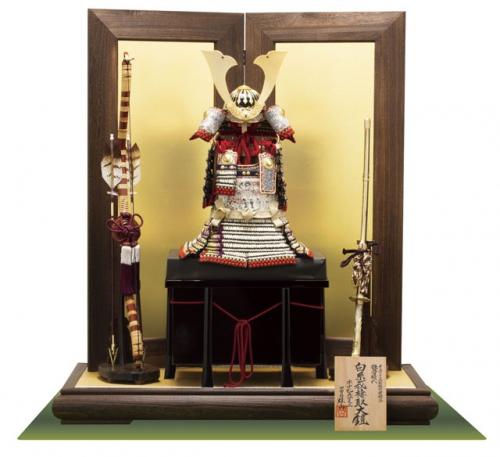メトロポリタン所蔵「白糸威褄取」大鎧2/5の模写