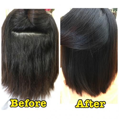 またまたクリニカル酸性縮毛矯正