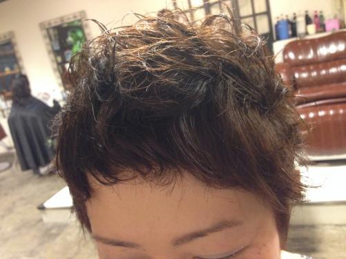 くせ毛を生かしたベリーショート