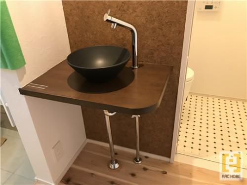 ☆新築戸建物件☆札幌市建築中現場情報を更新!手洗い器♪