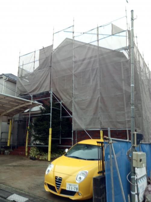 横手市都筑区O邸塗装工事