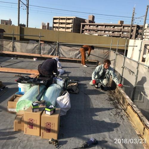 防水工事名古屋