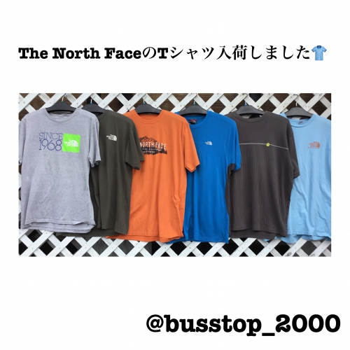 The North FaceのTシャツ入荷しました!