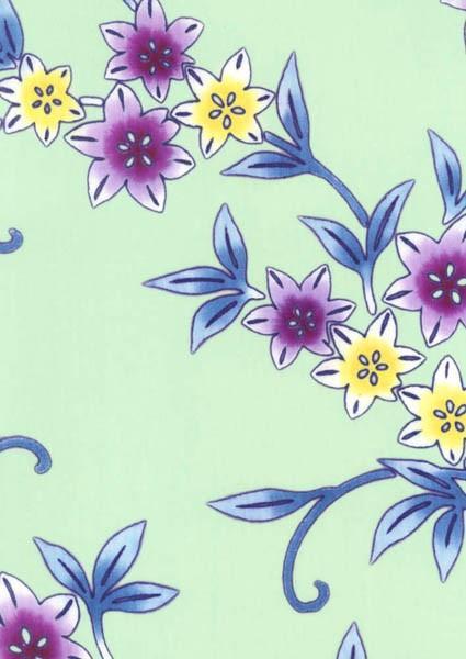 着物の模様などにも広く用いられる花