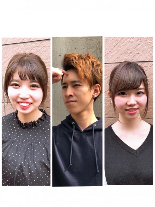新人3人が入社しました☆  調布美容院