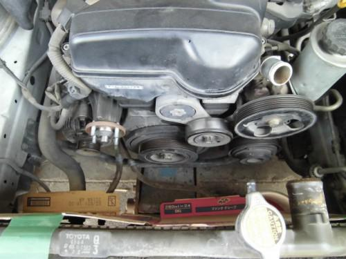 JZS171クラウン 1JZエンジンのタイミングべルト交換