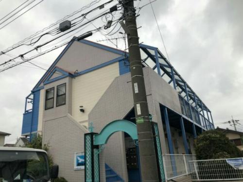 アパート、ハイツ、屋根、外壁、塗装