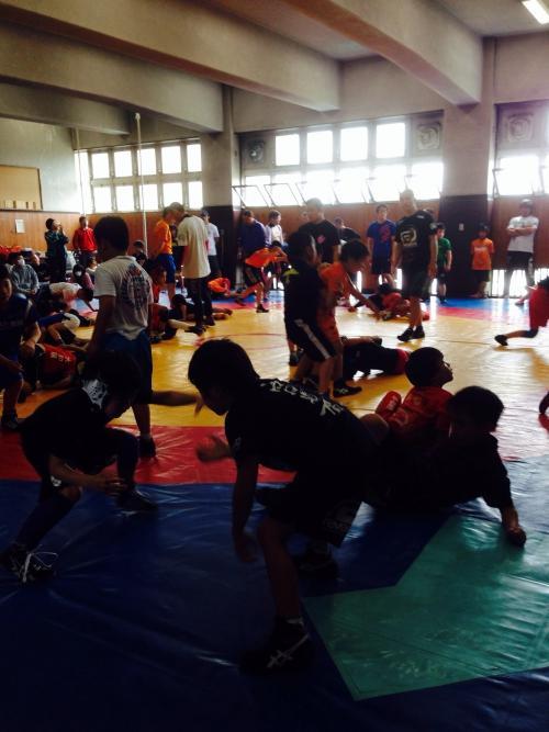 第2回 ロータス世田谷主催 キッズレスリング合同練習会