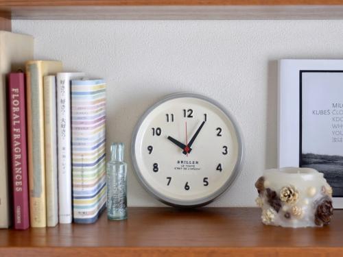 【スタジオ エム】陶製時計 Briller ブリエ