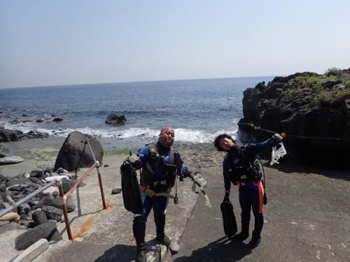 4/20(金) 伊豆海洋公園:海洋実習2日目