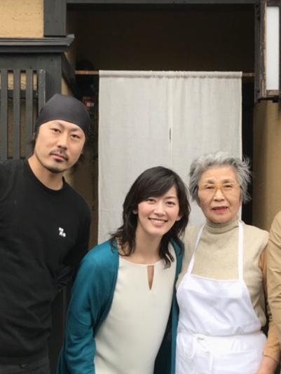 佐藤藍子さんが来店してくれました!
