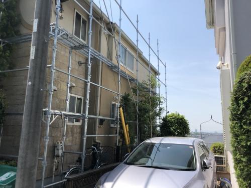 青葉区市が尾町K様邸屋根外壁塗装工事