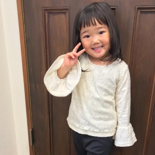 お子様 カット  子供 女の子 髪型 ミディアム