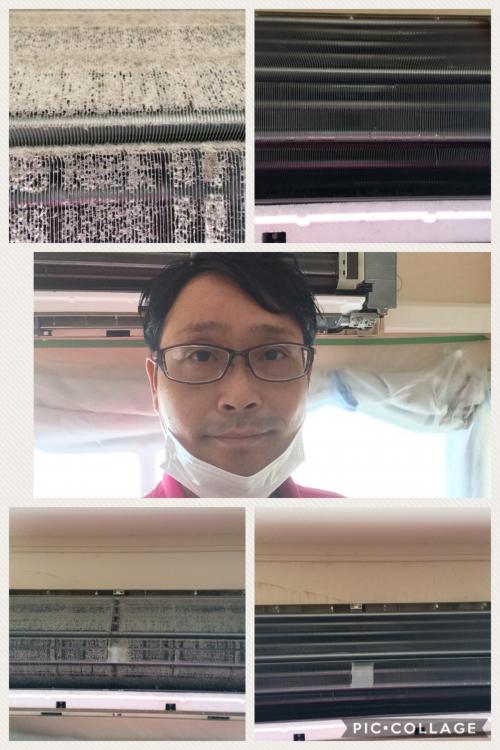 GW開けは横浜でエアコンクリーニング
