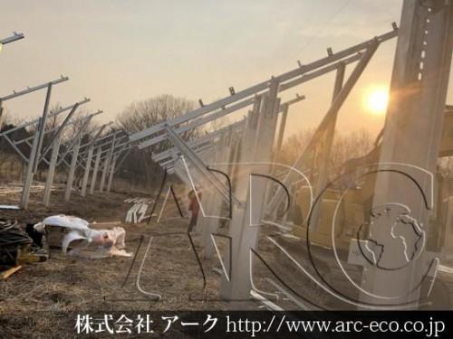 苫小牧市 太陽光発電設置工事!